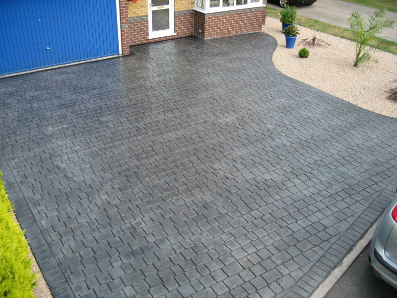 Services Offered At Horizon Driveways Pattern Imprinted